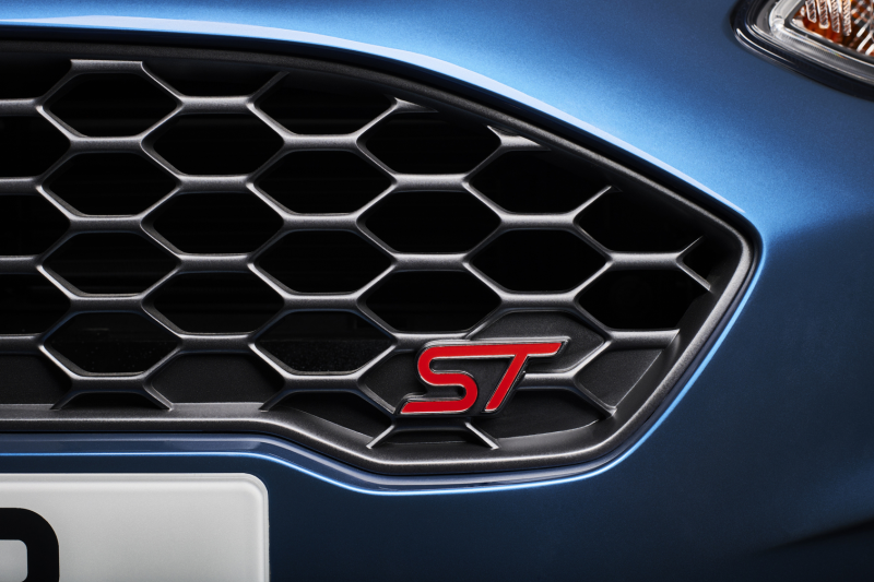 All-New Ford Fiesta ST front grill