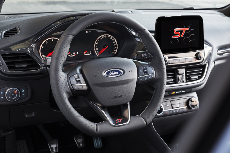 All-New Ford Fiesta ST Steering wheel