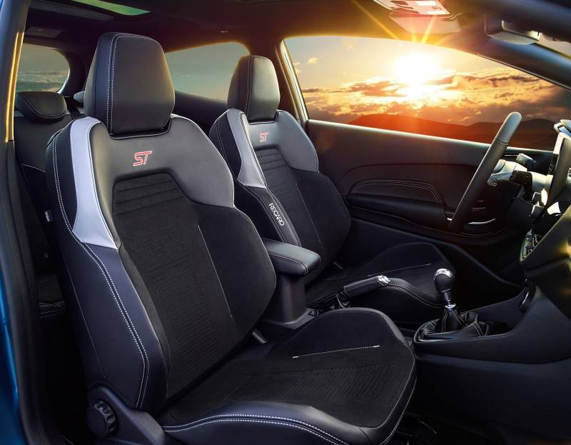 All-New Ford Fiesta ST front seats