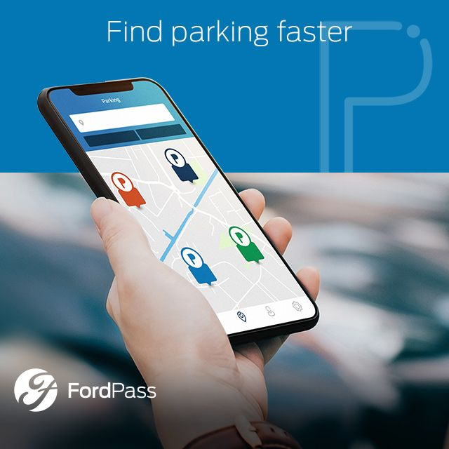Find Parking faster with FordPass