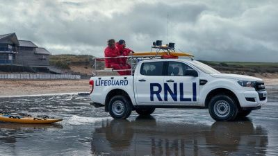 Proud that Ford is to be supporting RNLI