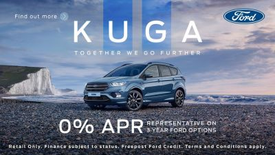 0% Finance on a New Ford Kuga